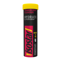 Isostar Hydrate & Perform Powertabs Cranberry